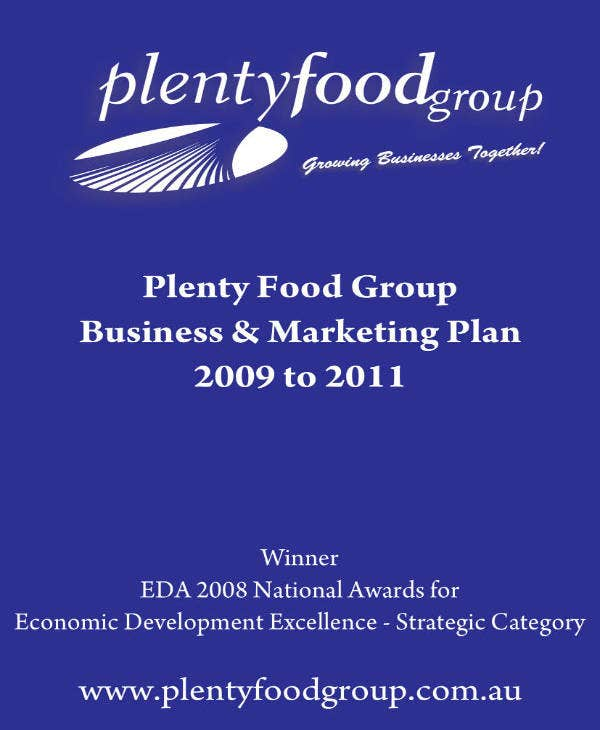 Food Marketing Strategy Business Plan