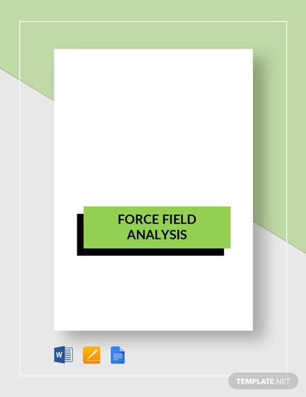 force field analysis template1