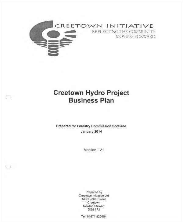 free business project plan