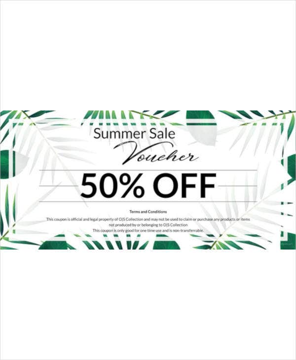 free holiday voucher template