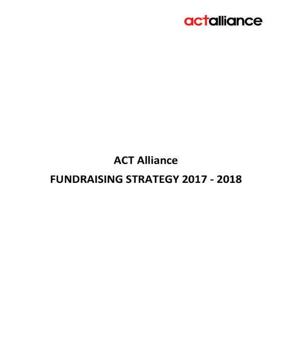 fundraising strategy june