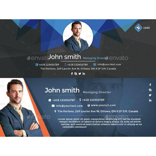 geometric-managing-director-email-signature-template