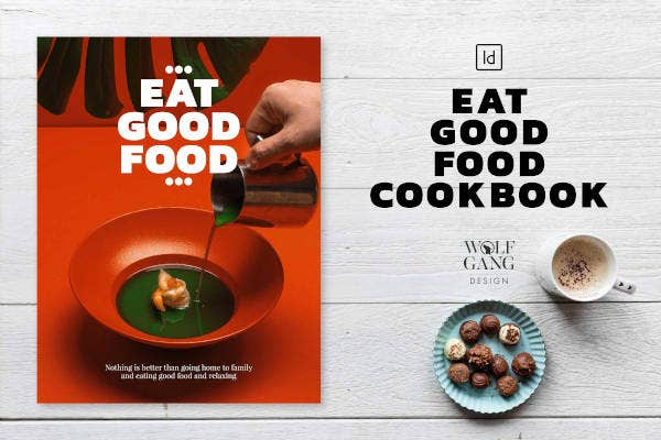 good food cookbook template