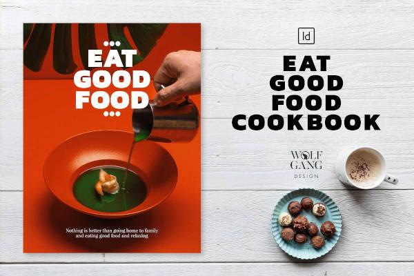 Good Food Cookbook Template