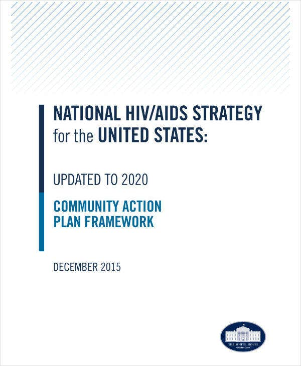 HIV/AIDS Community Action Plan Sample