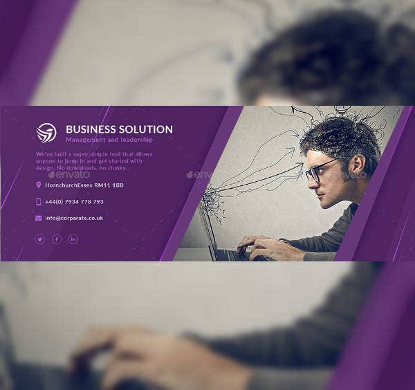 HR Business Email Signature Template