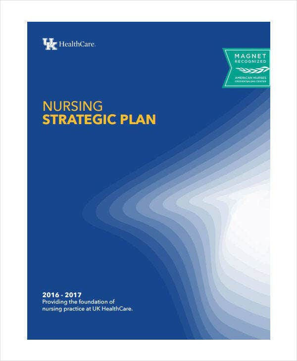 Health Care Nursing Strategic Plan Template