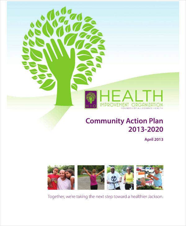 Health Community Action Plan Sample