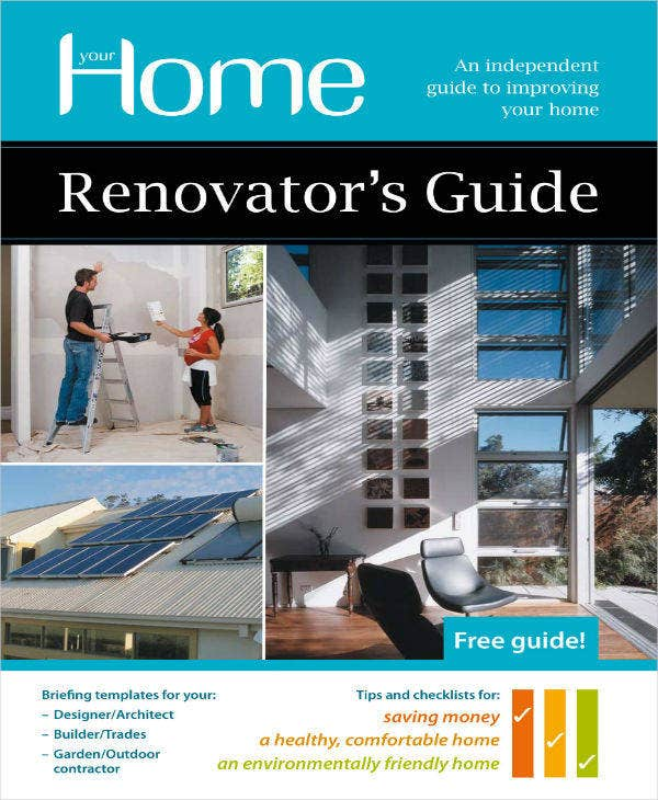 5+ Home Renovation Project Plan Templates - PDF, Word | Free