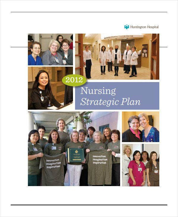 hospital nursing strategic plan example