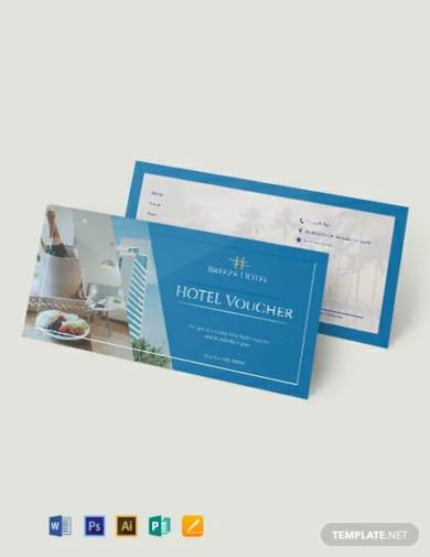 hotel voucher template1