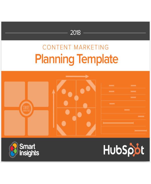 hubspot content planning templates
