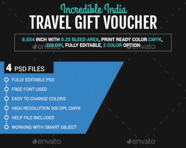 Incredible India Travel Gift Voucher