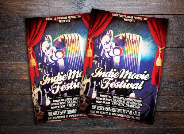indie-movie-festival-flyer
