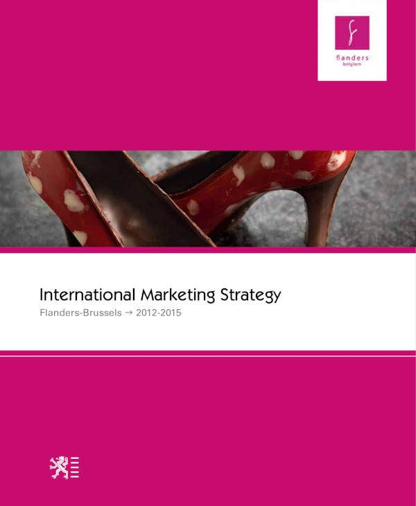 International Marketing Study Business Plan