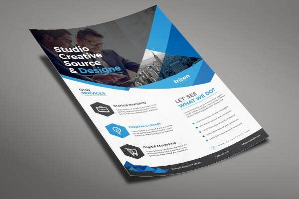 learning business flyer template