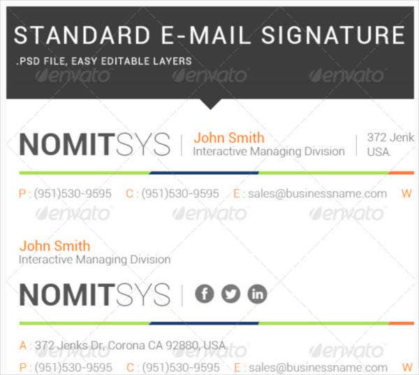 legal services email signature example