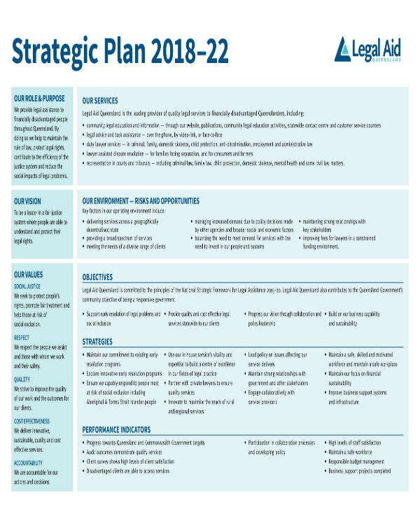 legal aid strategic plan 1