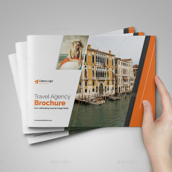 Libero Travel Agency Brochure Template