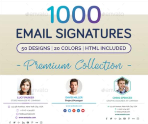 logistics email signature example