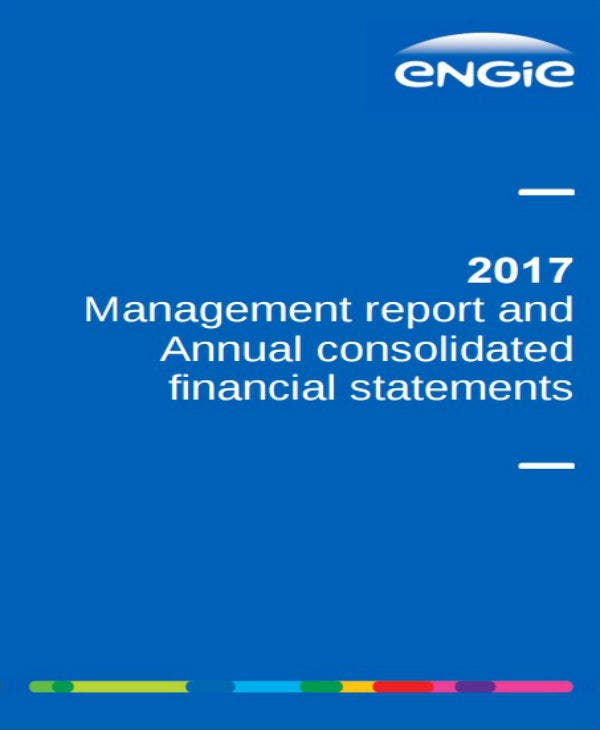 management report and annual consolidated financial report