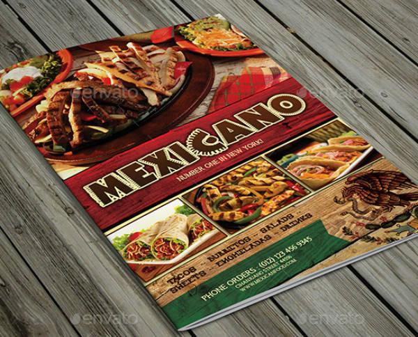 Mexican Restaurant Food Menu