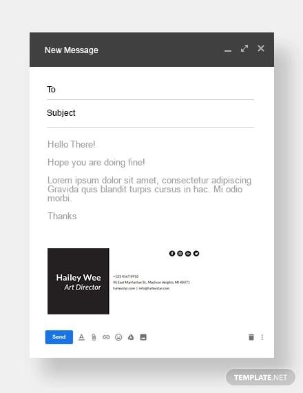 minimalist email signature template1