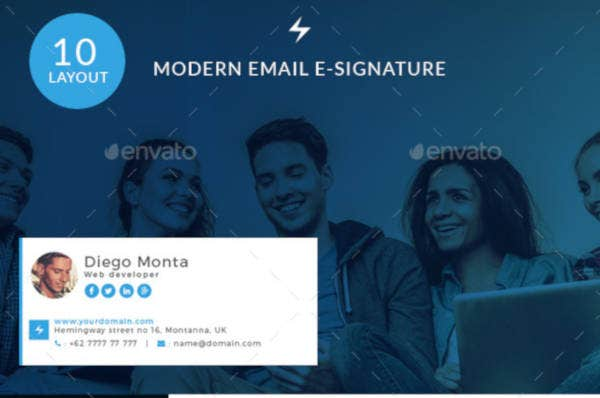modern-email-e-signature