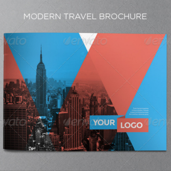 Modern Themed Travel Brochure Template