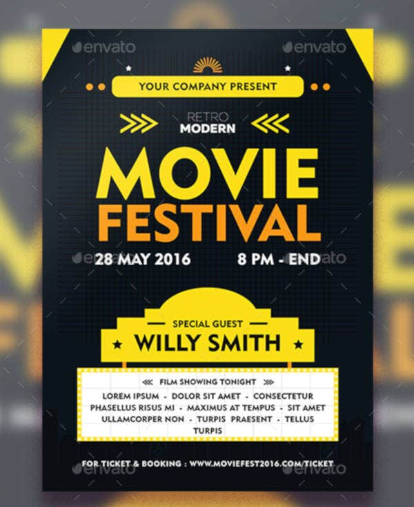 19   film festival flyer templates