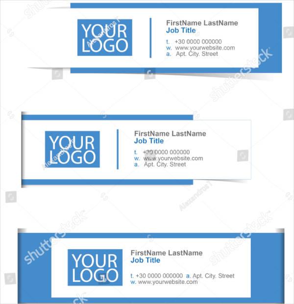 Multipurpose Email Signature Example