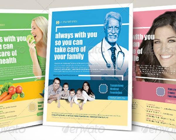 Multipurpose Healthcare Flyer Template