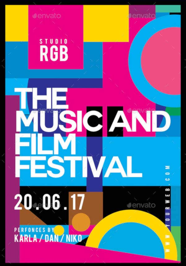 music-and-film-festival-flyer