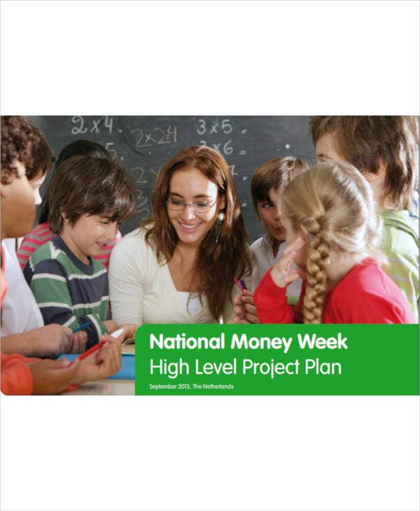 national money week high level project plan