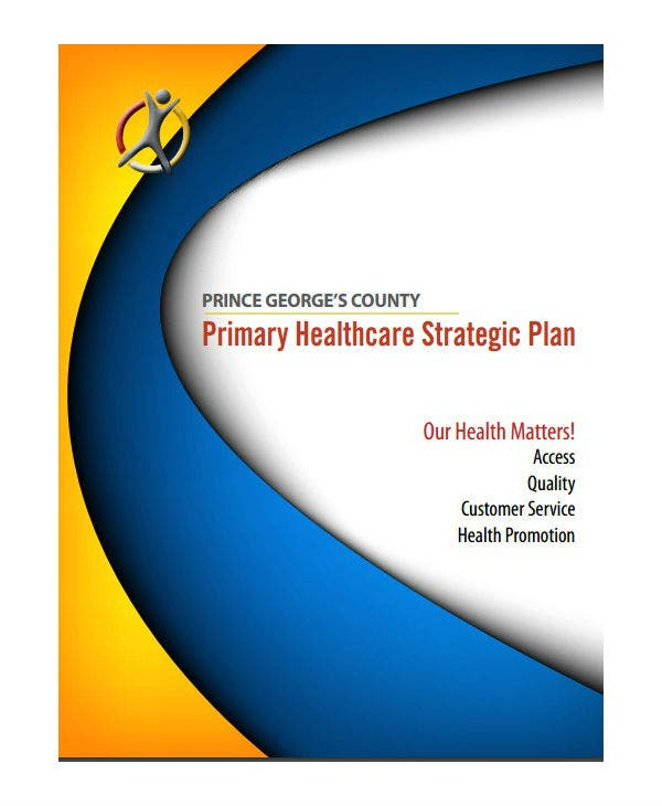 primary healthcare strategic marketing plan template