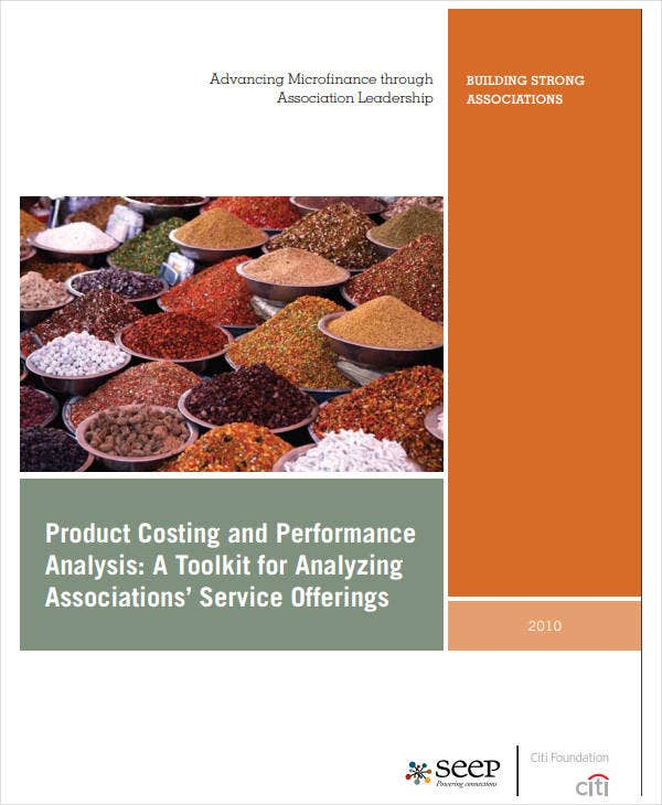 production cost analysis example