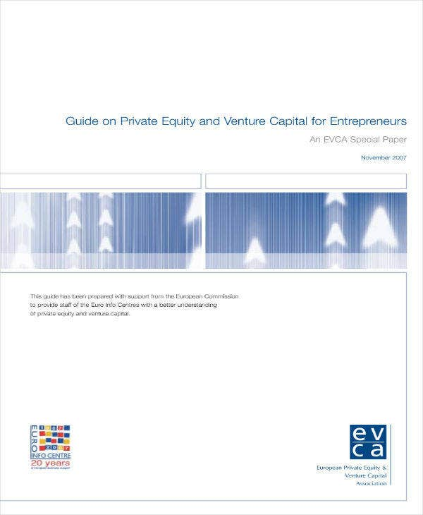 Proposal for Private Equity and Venture Capital