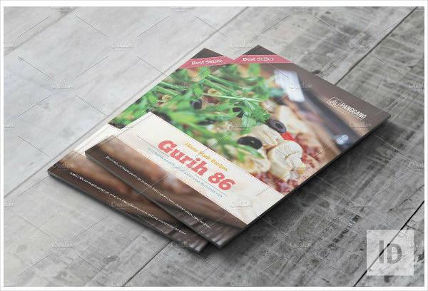 Recipe Book Catalog Template
