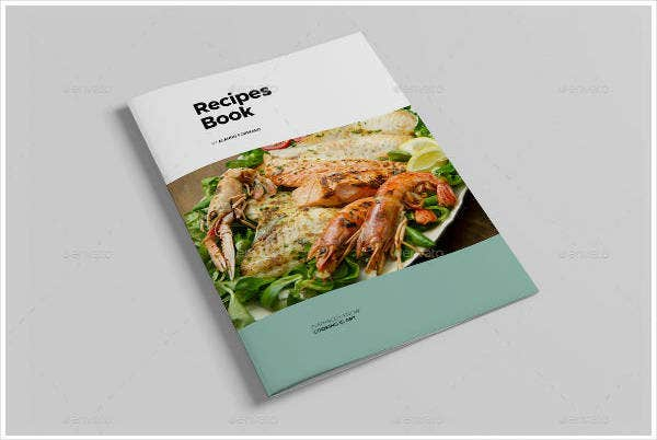 recipe cookbook catalog design