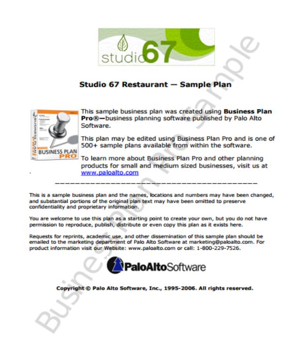 9+ Restaurant Business Proposal Templates - PDF, Word, Apple
