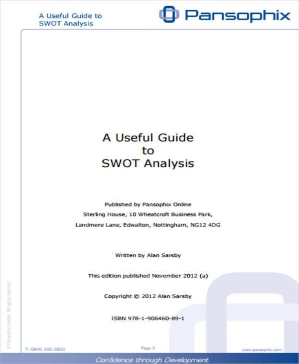 swot analysis for advertising