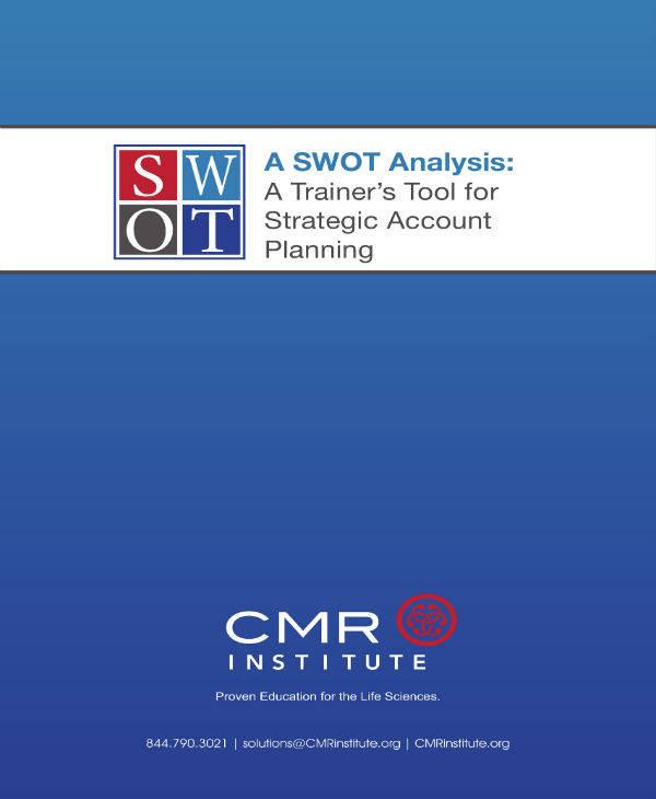 SWOT Training Tool Sample