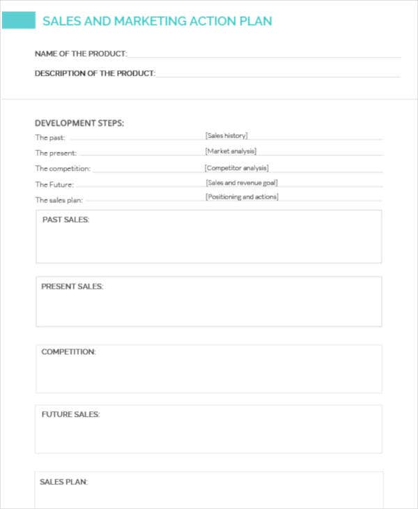 sales and marketing action plan template1
