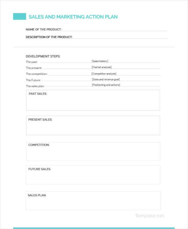 sales and marketing action plan template3