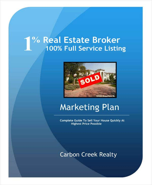 Sample 12 Month Real Estate Marketing Plan
