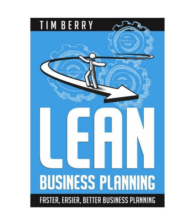 sample lean business plan 001
