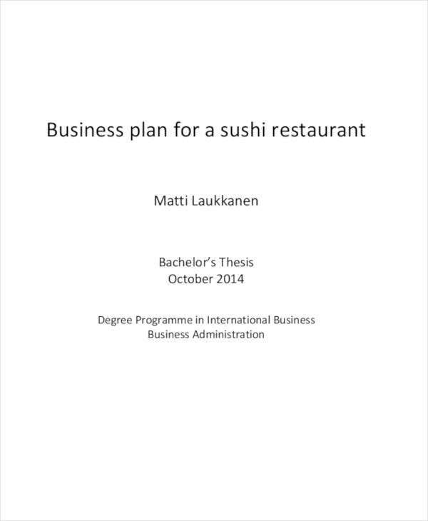 sample restaurant and catering business plan1