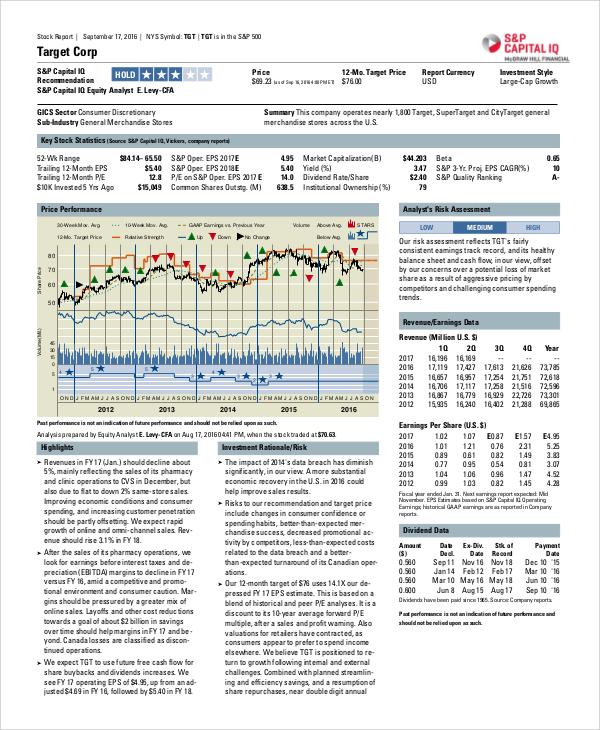 sample target market analysis
