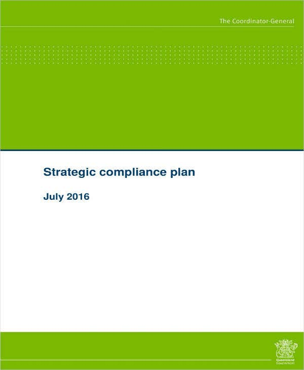 Simple Compliance Strategic Plan