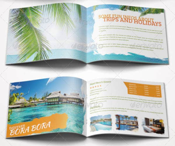 Simple Fun Travel Brochure Template